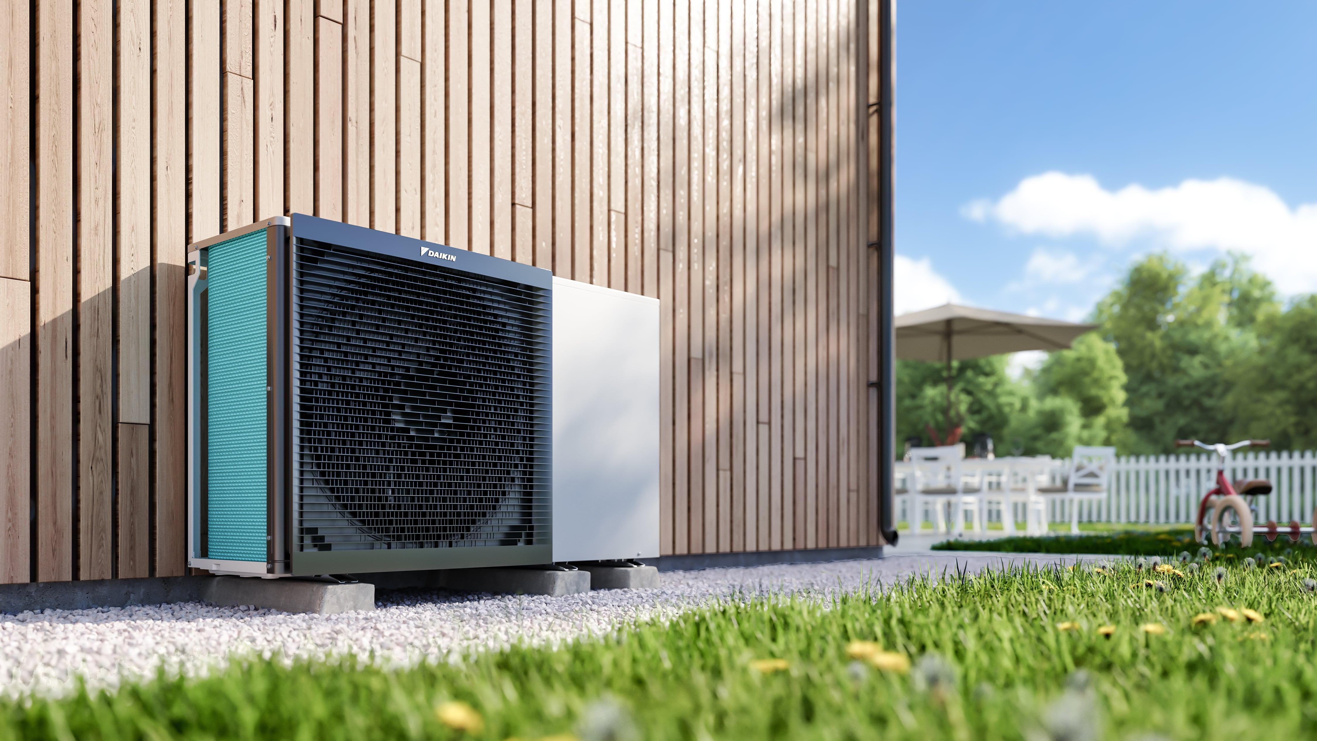 wise energy daikin renewable air source heat pump